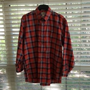 Mens shirt LLBEAN.size large